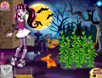 Draculaura teendői a farmon Monster high játék