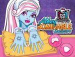 Abbey Bomminable körmei Monster high játék